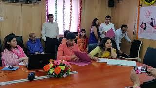 Foundation day celebration at BOB MMSR