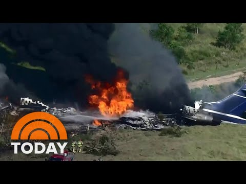 All 21 On Board Survive Fiery Plane Crash In Texas