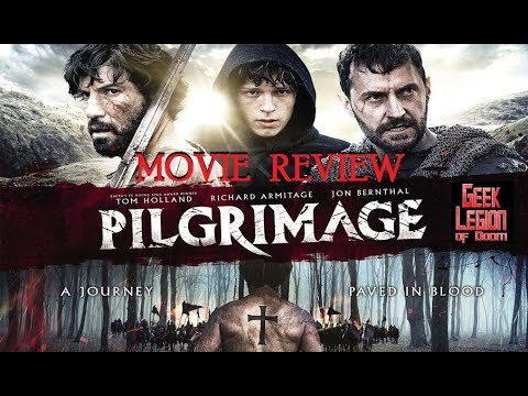 PILGRIMAGE ( 2017 Tom Holland ) Historical Fantasy Movie Review
