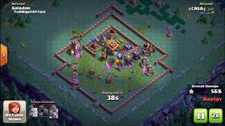 How to 3-star Galadon base BH7 - Clash of Clans