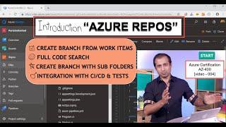 Az400 v4 - Introduction AZURE Repos BONUS Git Code Search,WikiAsCode | Microsoft Certification AZ400