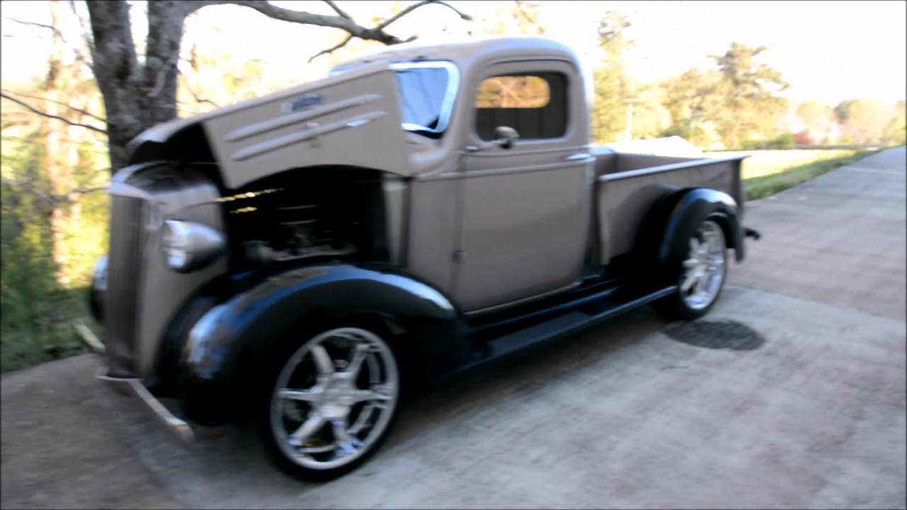 1937 Chevrolet Pick Up Truck by Gamel Street Rods - YouTube