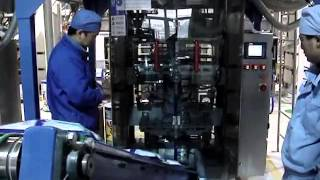 Machines d'emballage de poudre à laver: Unilever usine