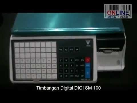 Input data PLU di DIGI SM-100