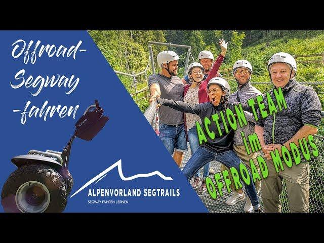 Segway Touren in den Bergen - Action Team im Offroad Modus