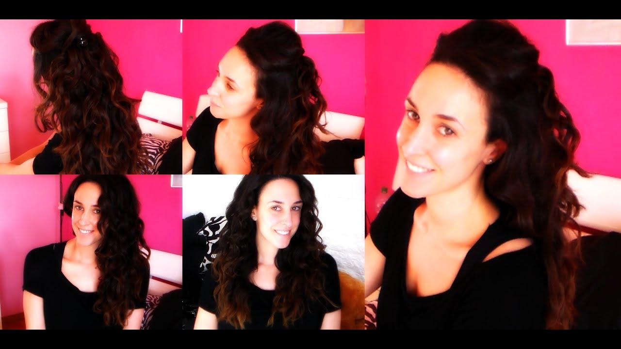 Come rendere i capelli da ricci a mossi
