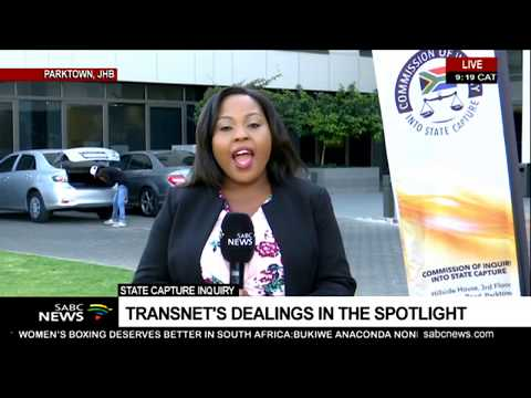 Transnet dealings under spotlight at the State Capture Inquiry