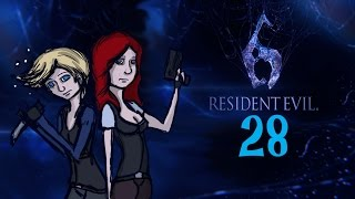 Double Damsels Play | Resident Evil 6 | Part 28 | Crotch Shots thumbnail