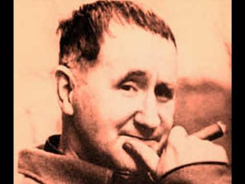 El analfabeto politico .-  Bertolt Brecht
