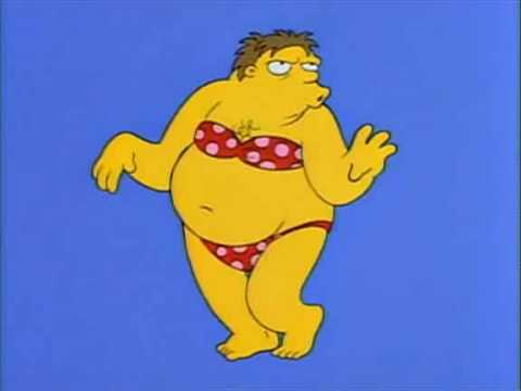 Resultado de imagen de bikini homer