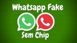 Como Criar Número Fake para Whatsapp sem Chip 2018 ( 100% FUNCIONAL )