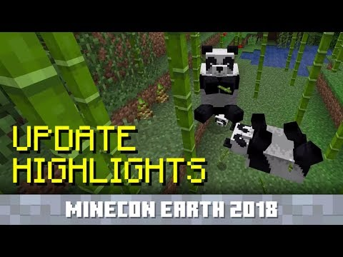 Minecraft 1 8 update brings pandas, stray cats, bamboo, and