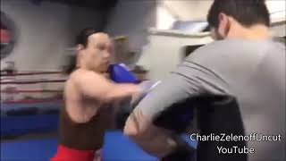 Funniest Boxer Wants Charlie Zelenoff! MUST SEE! LOL