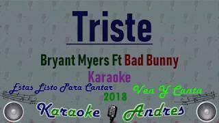 Triste - Bryant Myers Ft. Bad Bunny    Produce R.a.b Beatz