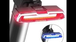 Cob Led Fahrrad Rücklicht Blinker Bremslicht Usb Wiederaufladbar Fahrradlicht