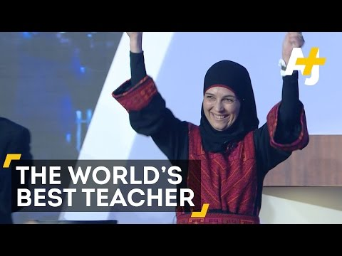 The World's Best Teacher: A Palestinian