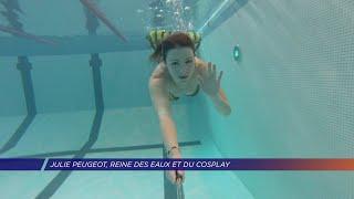 Yvelines | Julie Peugeot, Reine des eaux et du cosplay!