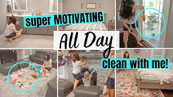 *SUPER MOTIVATING* CLEAN WITH ME 2020 | ALL DAY SPEED CLEANING MOTIVATION | CLEANING ROUTINE
