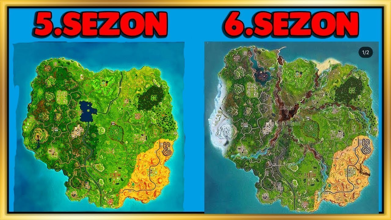Fortnite Speculating Season 6 And Season 7 Map Changes Youtube