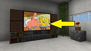 COMMENT FAIRE UNE TV FONCTIONNELLE SANS MODS MINECRAFT PS4/PS3/XBOX ONE/360/PC/WII U/SWITCH/PS VITA