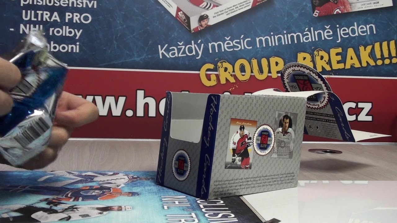 WWW HOKEJ-KARTY CZ RETRO Group Break Únor 03-2019, 1996-97 Donruss Elite  Hockey Hobby Box