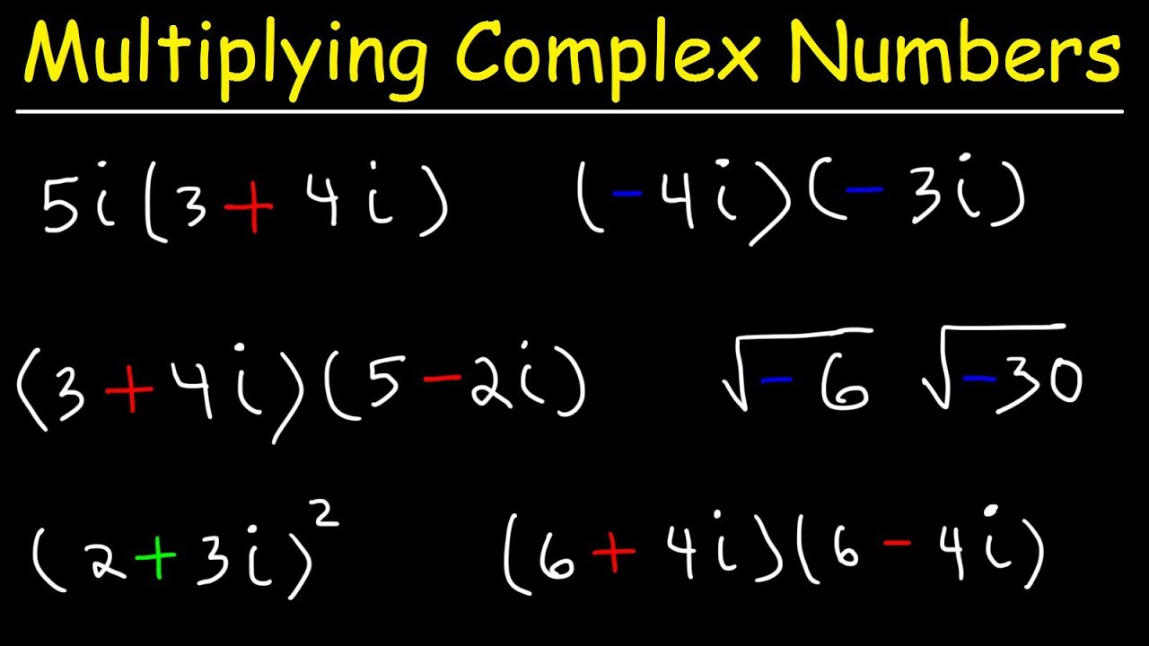 Adding And Subtracting Complex Numbers Youtube What is addition of complex numbers