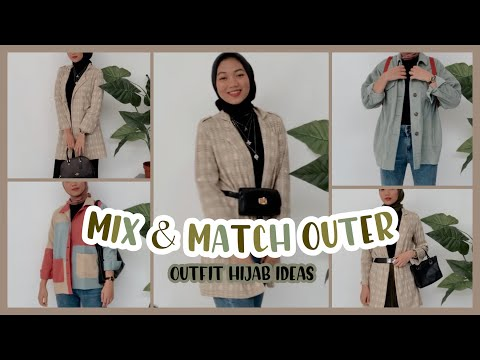 OOTD HIJAB - simple mix & match outer ✨❤️🌻 - YouTube