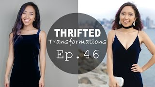 Thrifted Transformations | Ep. 46 Velvet Dress