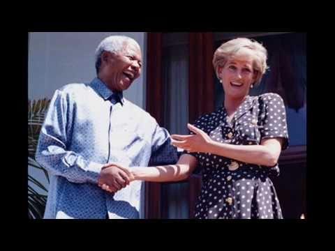 Princess Diana in Africa!