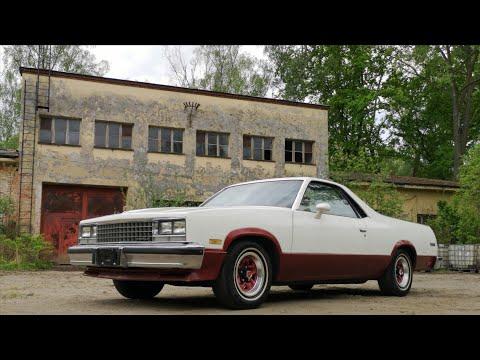 Retard Garage! 1983 Chevrolet EL Camino V8