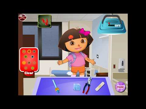 NEW мультик онлайн для девочек—Даша у доктора—Игры для детей
