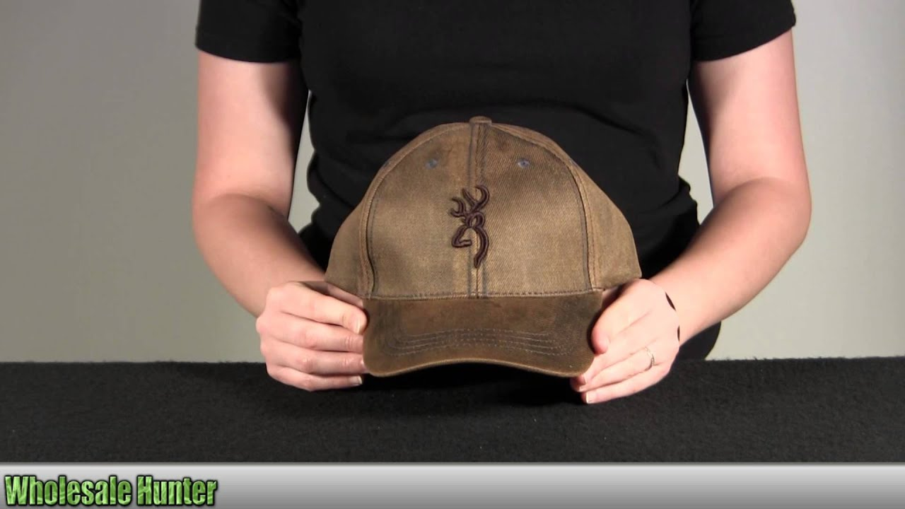 bbd726c4602bc Browning Rhino Hide Cap Brown 308328881 Unboxing - YouTube