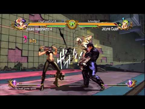 JoJo's Bizarre Adventure: All Star Battle - Online Ranked Fights Part 1