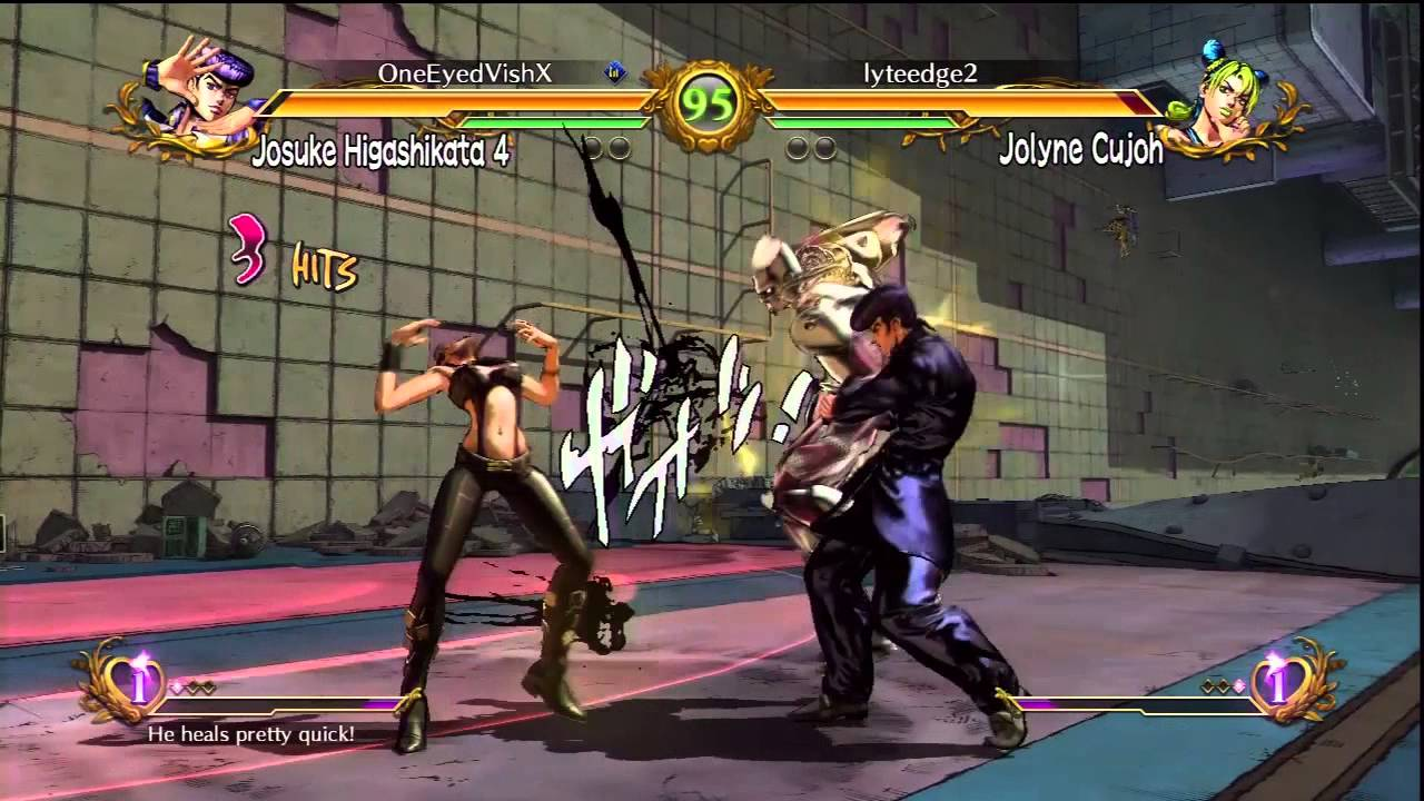 Jojo S Bizarre Adventure All Star Battle Online Ranked