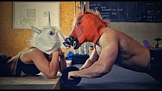 Anabolic Horse - Couple Workout