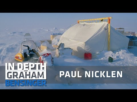 Paul Nicklen: Alone in Arctic tundra for 3 months