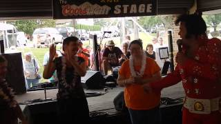 Andy Svrcek (Elvis) - clip - Coplay, PA - August 30, 2015