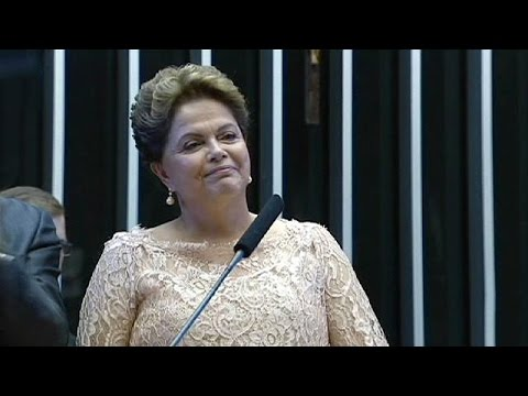 Brazil's Rousseff starts new term under cloud of corruption