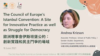 The Council of Europe's Istanbul Convention: A Site for Innovative Practice & Struggle for Democracy