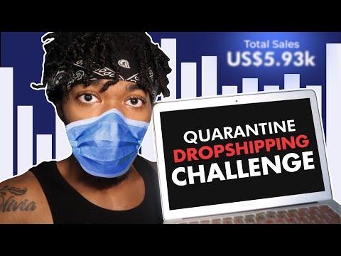 Quarantine Shopify Dropshipping Challenge thumbnail