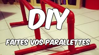 Diy : Faites Vos Parallettes Pour Pas Cher !