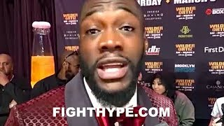 (WOW!!!) DEONTAY WILDER AGREES TO ANTHONY JOSHUA'S TERMS FOR 2-FIGHT DEAL: