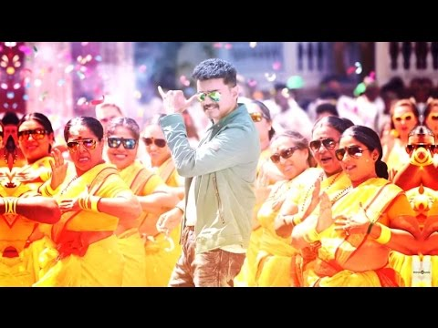Jithu Jilladi video song | Theri | Vijay, Samantha, Amy Jackson | Atlee | DJ RMK Remix