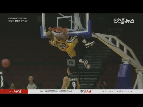 Mbala, Cool Dunk In The 3rd Quarter | Thunders Vs ShanDong | 20180919 | THE TERRIFIC 12