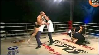 MMA Tornado Kick KO