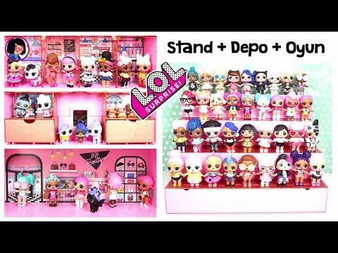 Türkiye'de ilk LOL Pop Up Store   Stand Bebek Evi ve Çanta 3 ü 1 Arada   Zep'in Oyuncakları