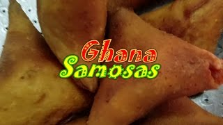 My Ghana Adventure: Samosas | Guest Chef Mrs. Holm