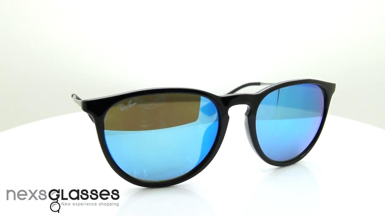 59d15d82b14 แว่นกันแดด RAY-BAN ERIKA RB4171F 601 55 54. Nexs Glasses