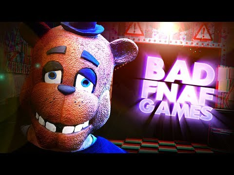 THESE ARE... INTERESTING... || 4 BAD FNAF GAMES