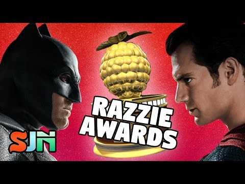BATMAN v SUPERMAN MAKES GREAT SHOWING AT RAZZIES!!!